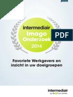 Whitepaper Intermediair Imago Onderzoek 2014