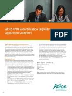 10207 CPIM Recertification Eligibility AppForm v02