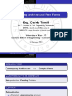 Engineering architectural Free Forms