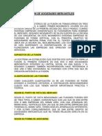 Tema 5 y 6 Ejercicios Fusion de Sociedades Mercantiles