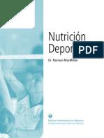 Nutrición Deportiva - McMillan