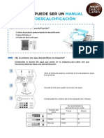 Manual de Descalcificación
