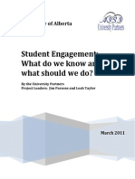Student Engagement Literature Review 2011