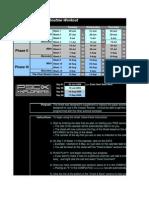 Blank P90X Worksheet