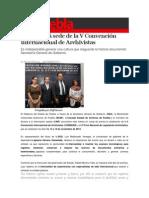 03-06-2014 S Puebla - Puebla será sede de la V Convención Internacional de Archivistas.