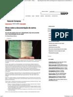 Dicas Sobre a Documentação de Carros Usados « Carros Usados « Guia de Compra « Quatro Rodas
