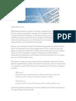 2012 Septiembre - El Bautismo, Antes y Ahora