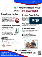 """The """"Value"""" in American Health Value"""