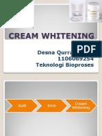 Cream Whitening