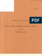 CGW Rwy 1939 Annual Report
