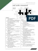04b Phrasal Verbs Crosswordp