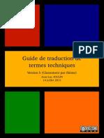 Guide de Traduction de Termes Techniques