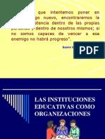 Las Instituciones Educativas Como Organizaciones