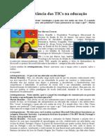 A Importância Das TICs Na Educação.doc