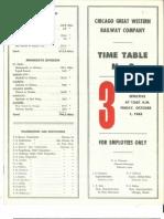 CGW System TT #3 Oct 1965