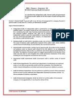 MF0013- Internal Audit