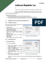 Modul MapInfo 7.5