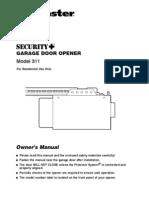 Lift Master Motor Chochera Manual