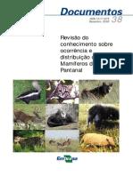 2002 - Rodrigues Et Al - Revisão Conhecimento Mamíferos Pantanal