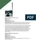 PROYECTO HIDROELÉCTRICO CALOPE