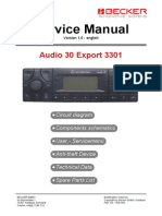 Becker-mercedes Audio30 Export 3301