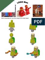 Assembly the Lego Man using CATIA v5