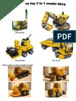 Assembly the a Lego Crane using CATIA v5