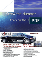 Screw the Hummer