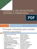 Noções e Uso de Nutrição Enteral e Parenteral