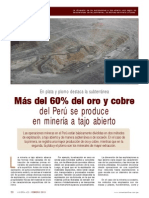 El Sector Minero Del Perú