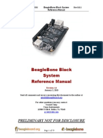 Beaglebone Black Reference Menu
