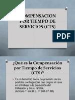 Compensacion Por Tiempo de Servicios Cts