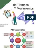 Presentación de Clase Estudio de Movimientos y Tiempos