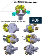 Assembly of a Fixture Device using CATIA v5