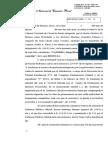 Cainero, Jorge Ricardo (Sancion Disciplinaria). CFCP