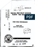 USN TPS Fixed Wing Performance Theory and Flight Test Technique
