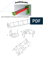 Assembly the Caulking Gun using CATIA v5