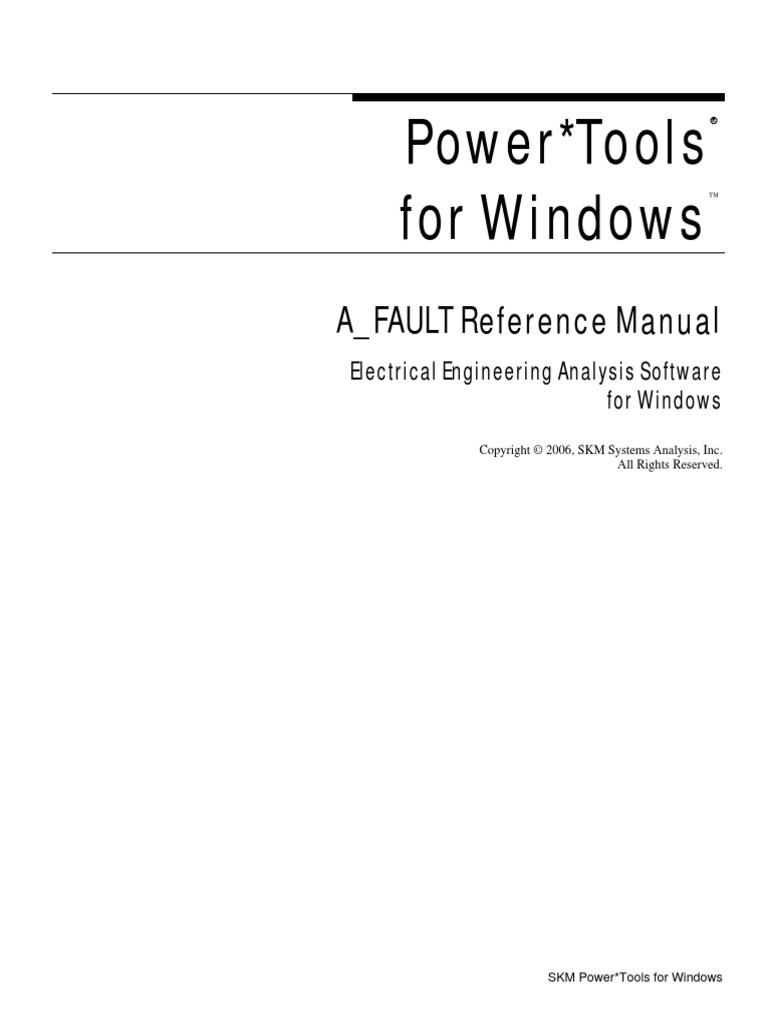Reference a Fault | Transformer | Alternating Current