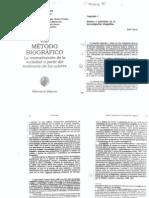 Ruth Sautu - El Metodo Biografico. Cap.1