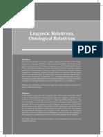 relativismo linguistico
