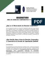Derecho Comparado - Observatorio de Derecho Corporativo (1)