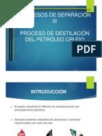Proceso de Destilacion Dle Petroleo
