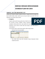 Membuat Presentasi Dengan Menggunakan Macro Media Flash Mx 2004