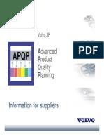 APQP Manual Volvo