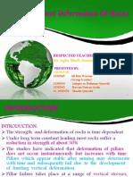 Time Dependent Deformation of Rocks Presentation