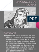 EMPÉDOCLES DE AKRAGAS
