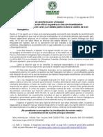 Boletín informativo - 21/08/2013