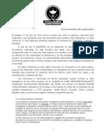 """Boletin de prensa """"Protesta ante el silencio de SAGARPA"""" - 24/07/2013"""