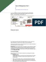 Fundamentals of Refrigeration Part 1