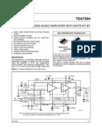 tda7294-datasheet